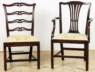 2 Antique Philadelphia/English Chairs