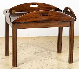 Antique Mahogany Butler's Table
