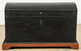 Antique Dome Top Blanket Chest