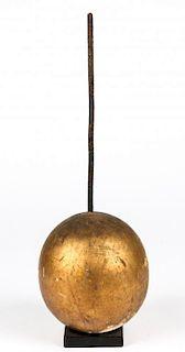 Antique Folk Art Lightning Rod