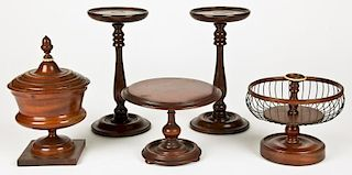 Antique Treen Grouping