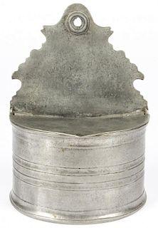 Antique Pewter Saltbox