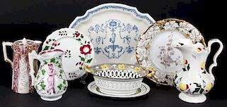 Collection of Antique English/American Porcelain