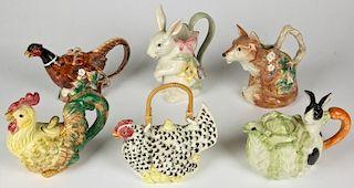 Fitz and Floyd Fauna Porcelain
