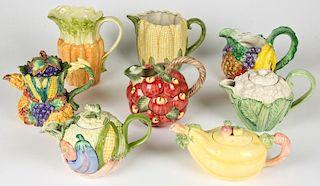 Fitz and Floyd Vegetable Theme Porcelain