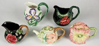 Fitz and Floyd Floral Porcelain
