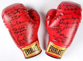 Blue Horizon Notables Signed Boxing Gloves