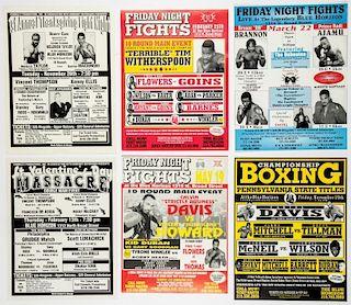 Vintage Blue Horizon Boxing Posters