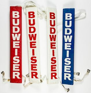 Blue Horizon Budweiser Branded Corner Post Pads