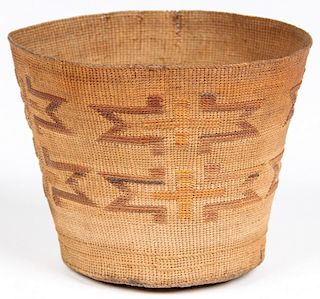 Native American Twined Basket