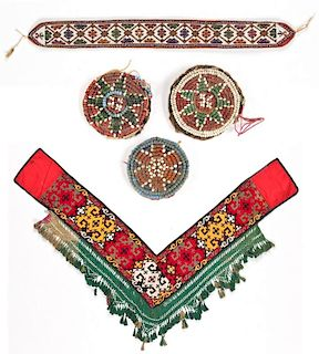 Group of Central Asian Trappings
