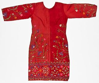 Embroidered Central Asian Dress
