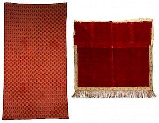 2 Antique Continental/Ottoman Textiles