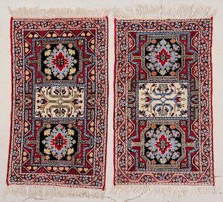 Pair of Vintage Moroccan Rugs
