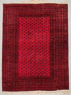 "Afghan Bokhara Rug: 8'3"" x 11'2"" (252 x 340 cm)"