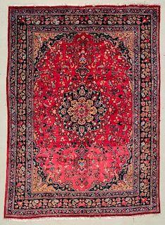 """Tabriz Rug: 8'1"""" x 11'3"""" (246 x 343 cm)"""