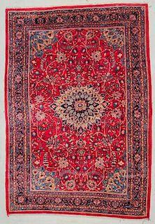 """Tabriz Rug: 7'5"""" x 10'7"""" (226 x 323 cm)"""