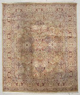 "Fine Persian Style Rug: 8'2"" x 9'8"" (249 x 295 cm)"