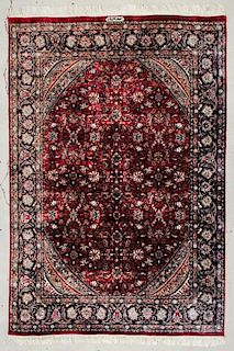 "Persian Style Rug: 6'2"" x 9'1"" (188 x 277 cm)"
