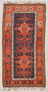 """Caucasian Avar Kilim: 5'5"""" x 10'3"""" (165 x 312 cm)"""
