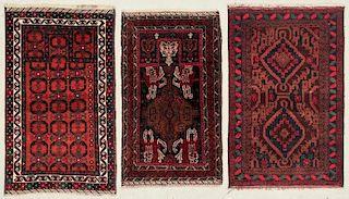 3 Afghan Beluch Rugs