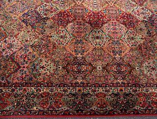 Karastan Multicolor Panel Kirman Rug