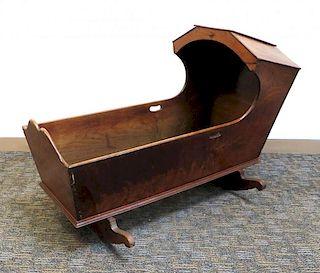 Antique Rocking Cradle