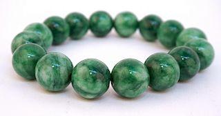 Green Jadite Bracelet