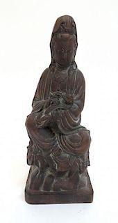 Ceramic Quanyin Figure