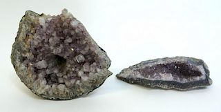 Two Pieces Of Amethyst