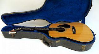 Martin Sigma Dm-3 6 String Acoustic Guitar