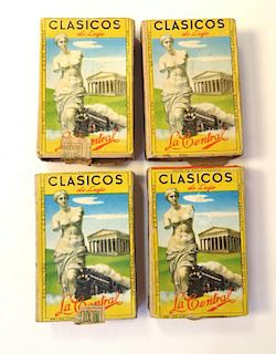 Four Collectable Vintage Match Boxes