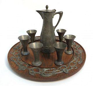 Art Nouveau Drinking Set