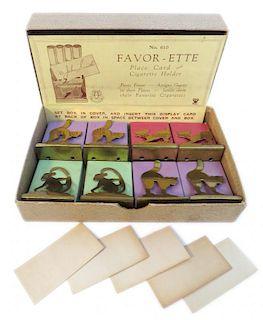 Favor-Ette Place Card And Cigarette Holders