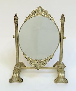 Double Sided Mirror On Stand