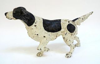 Cast Iron Pointer Dog Door Stop