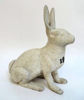White Rabbit Doorstop