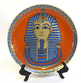 Commemorative King Tut Plate