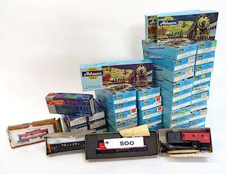 Forty-Two Ho Gauge Model Train Kits