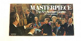 """Masterpiece"" Art Auction Vintage Board Game"