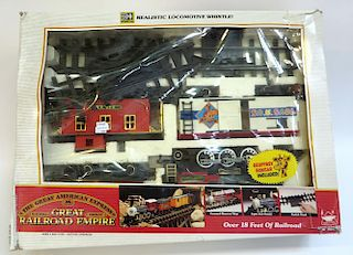 """""""The Great American Express"""" Toy Train Set"""