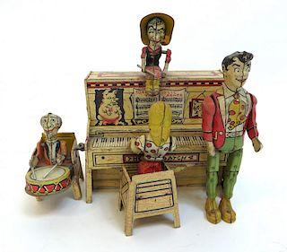 Pioneer Wind Up Piano Set