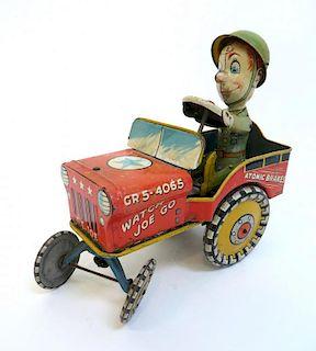 G. I. Joe & His Jouncing Jeep