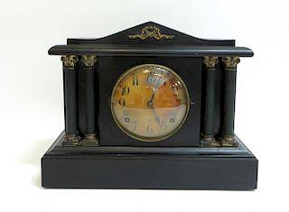 Gilbert Black Mantle Clock