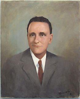 "Portrait ""C. Ricciardi 62"""