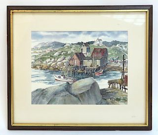 Ester Bollinger Watercolor Seascape
