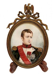 Memorial Portrait Of Napoleonic Interest