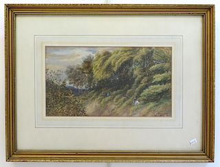 Watercolor/Goauche By James F. M. Gow