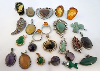 Assorted Pendants And Rings