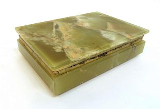 Green Onyx Box